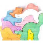 puzzle gatos