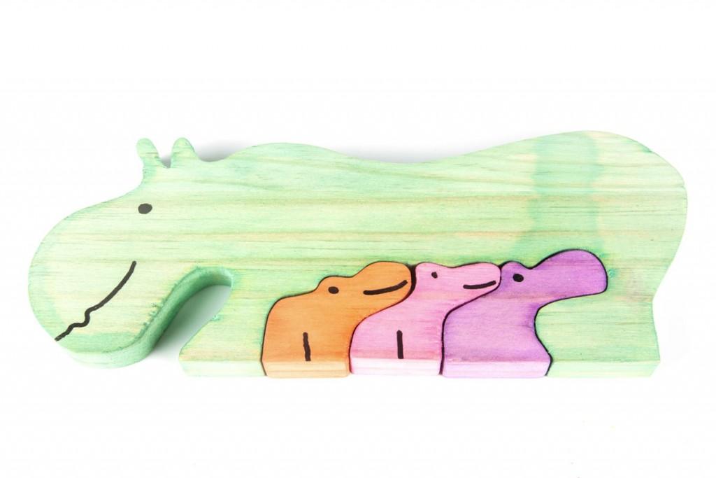 puzzle hipopótamos