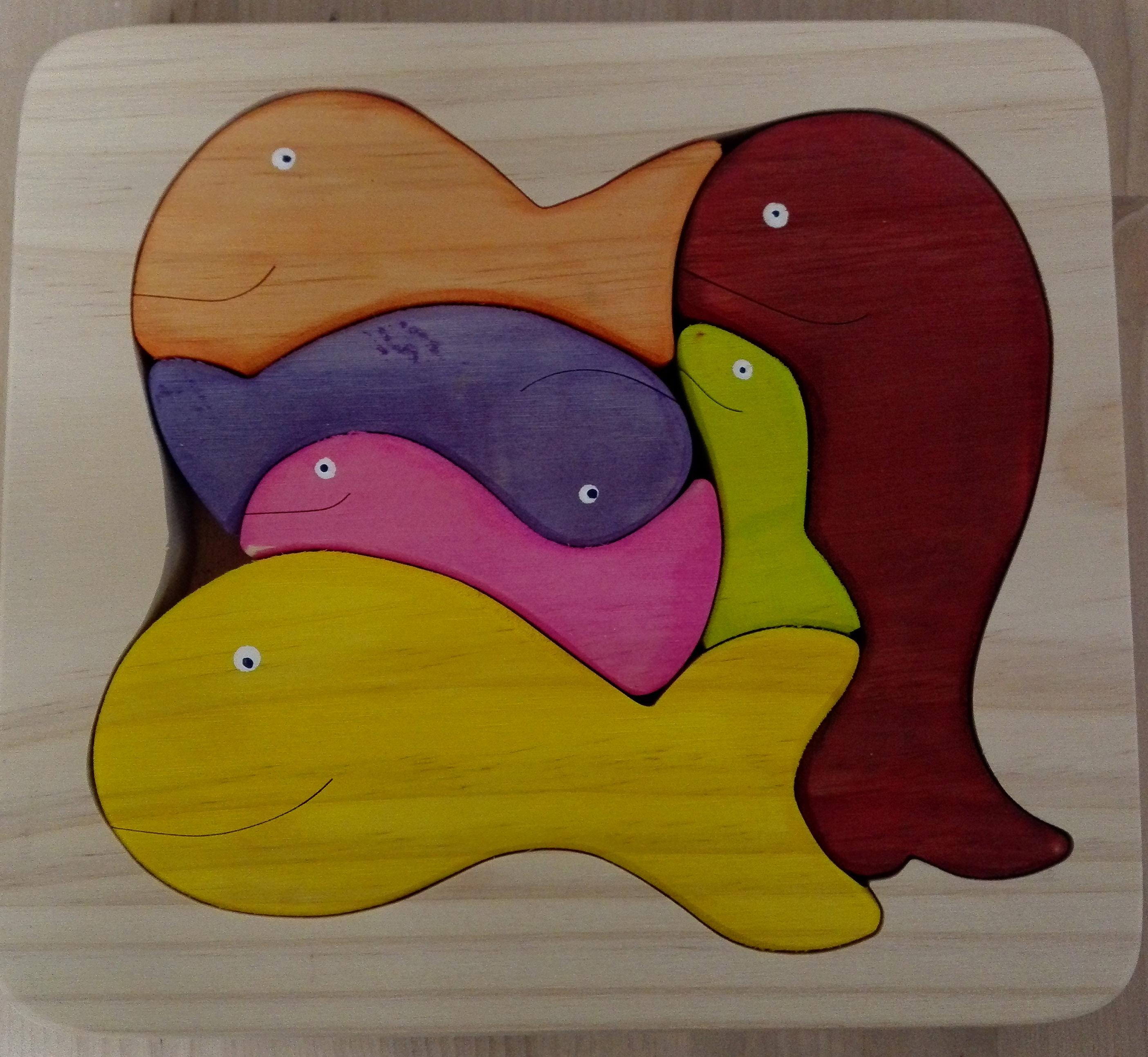 puzzle ballenas